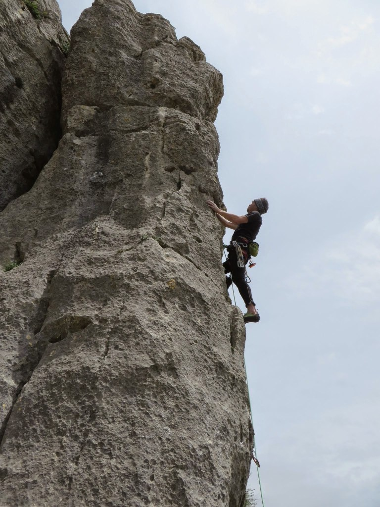 Ion Neagoe la cățărat, interviu nusu