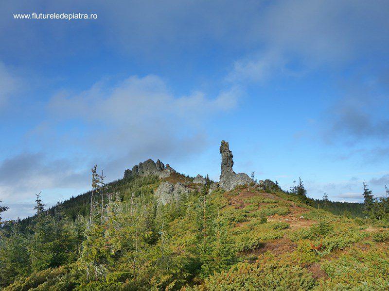 formațiunile stâncoase 12 Apostoli, Munții Călimani