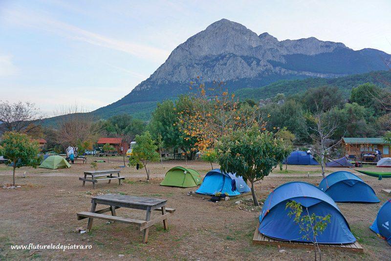 camping Josito, escaladă în Antalya, Turcia