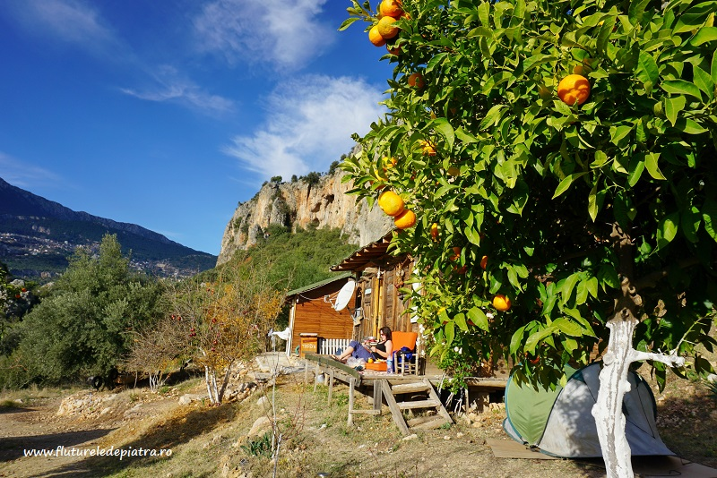 camping Climbers Garden faleze de escaladă Antalya