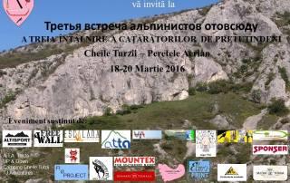 întâlnire cățăraători 2016, cheile turzii
