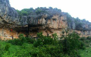 escalada croatia, paklenica, sport climbing, karin crag rain
