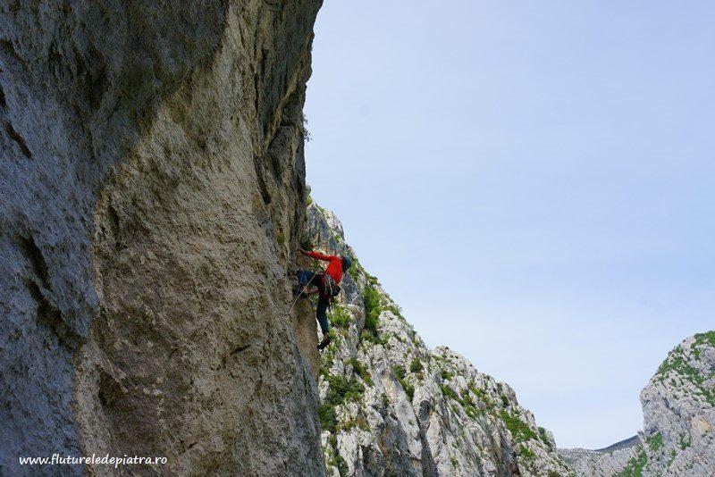 Senza Pieta în peretele Debeli Kuk, paklenica national park