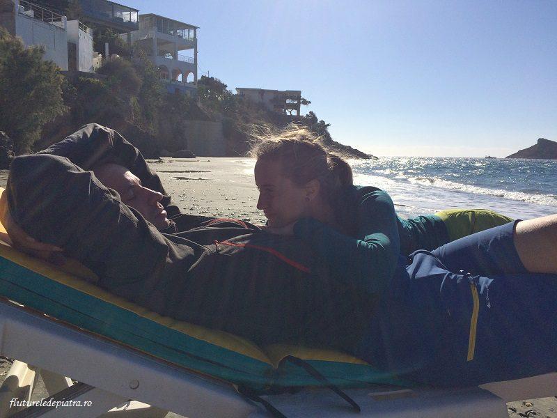 Oana și Alex, being cute in Kalymnos, plaja massouri