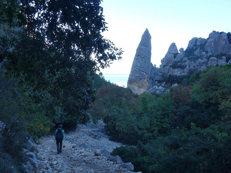Cala Goloritze, turnul de pe țărmul Sardiniei