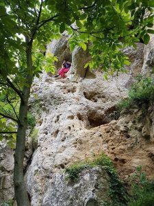 escalada Koshov Milkovata Bulgaria - Ioana