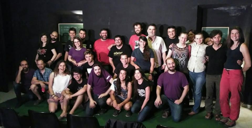 teatru de improvizație Lleida, Spania