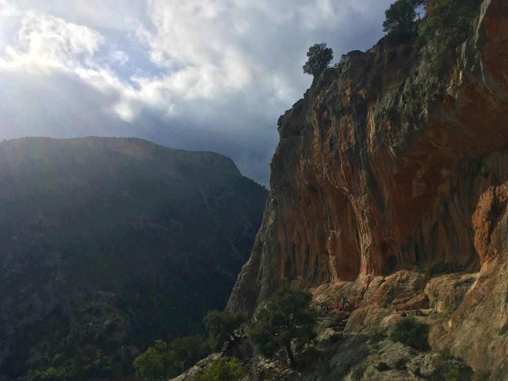 Maison des Chevres, Leonidio escalada grecia