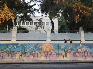 Graffiti cu desertul, Amman, Iordania