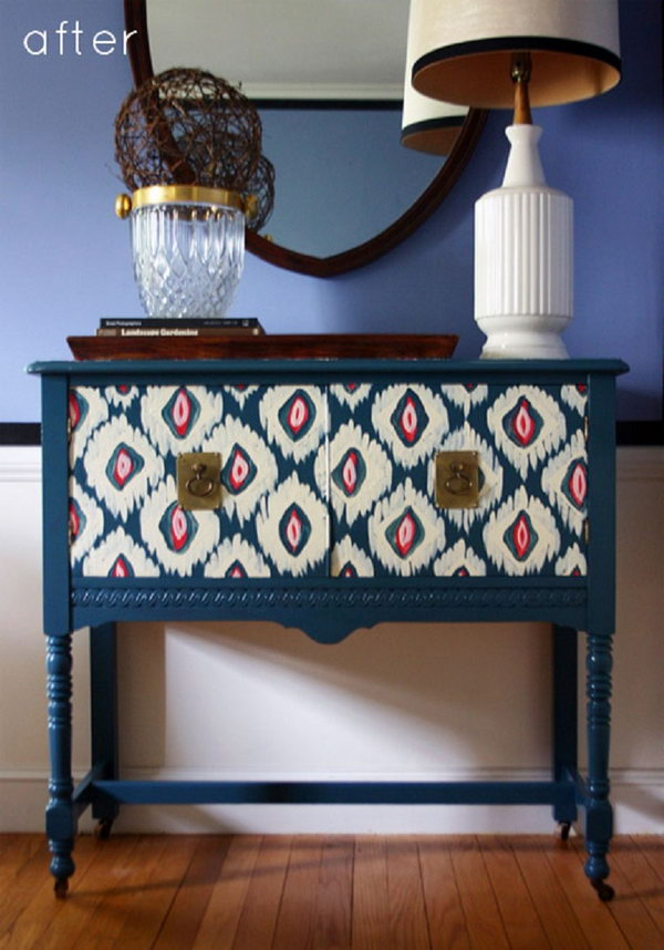Creative DIY Painted Furniture Ideas