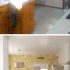 Cheap Kitchen Tile Faucet Spout Replacement Before And After: 25+ Budget Friendly Makeover Ideas