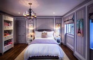 bedroom purple quarto quartos princesa rico mais bedrooms cozy um power neutro ungu looking decorados walls inspirational princesas imagem alcove