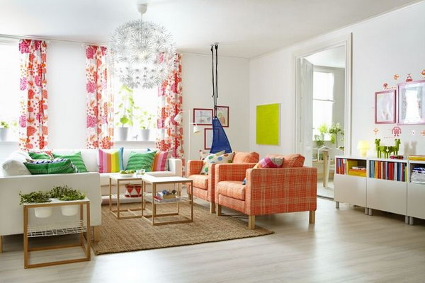 15+ Beautiful Ikea Living Room Ideas