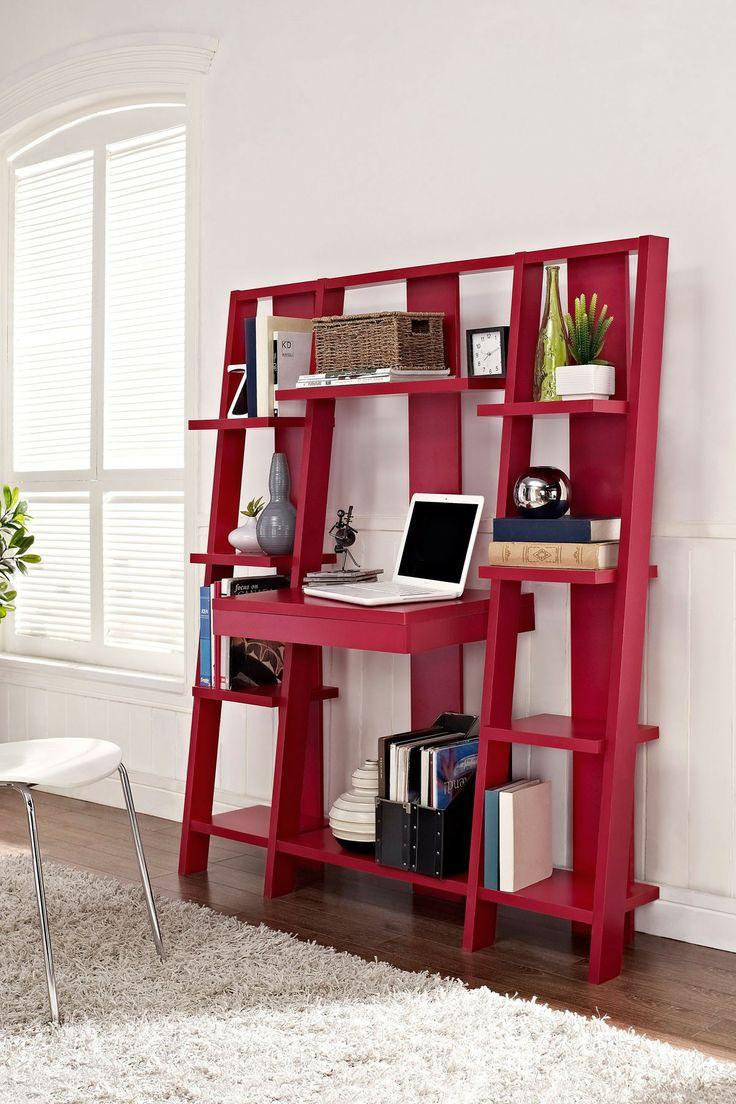 Desk Bookcase Combo