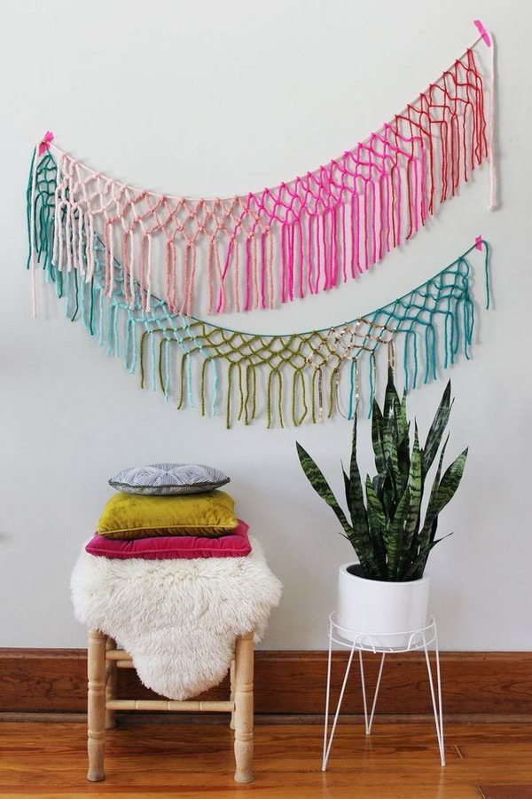 20 Cute DIY Yarn Crafts You Cant Wait To Do