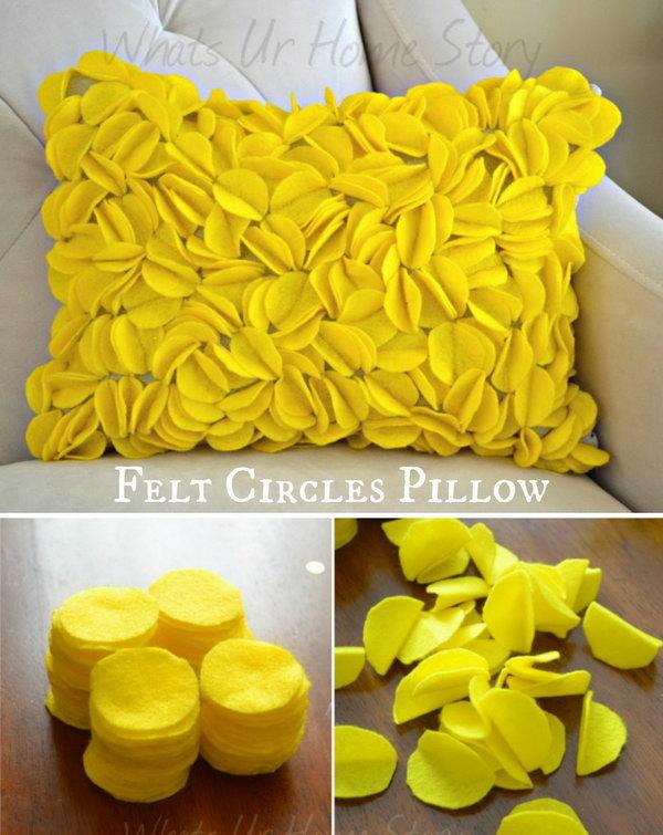 30 Easy DIY Decorative Pillow Tutorials Amp Ideas
