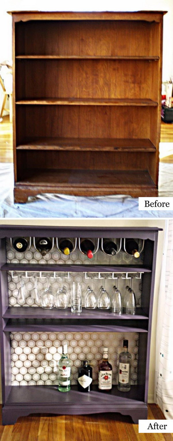 white kitchen table and chairs folding for kids 40 awesome makeovers: clever ways with tutorials to repurpose old furniture