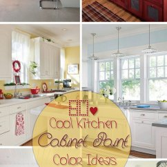 Repainting Kitchen Cabinets Sinks For Kitchens 80+ Cool Cabinet Paint Color Ideas