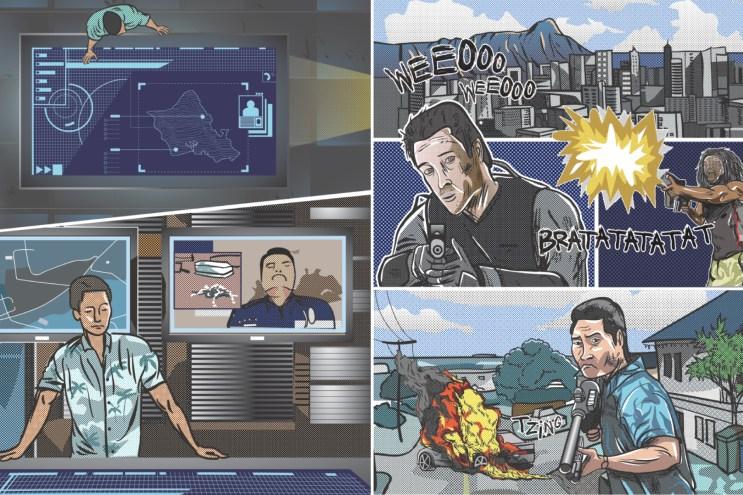 Hawaii Five-0 FLUX Hawaii