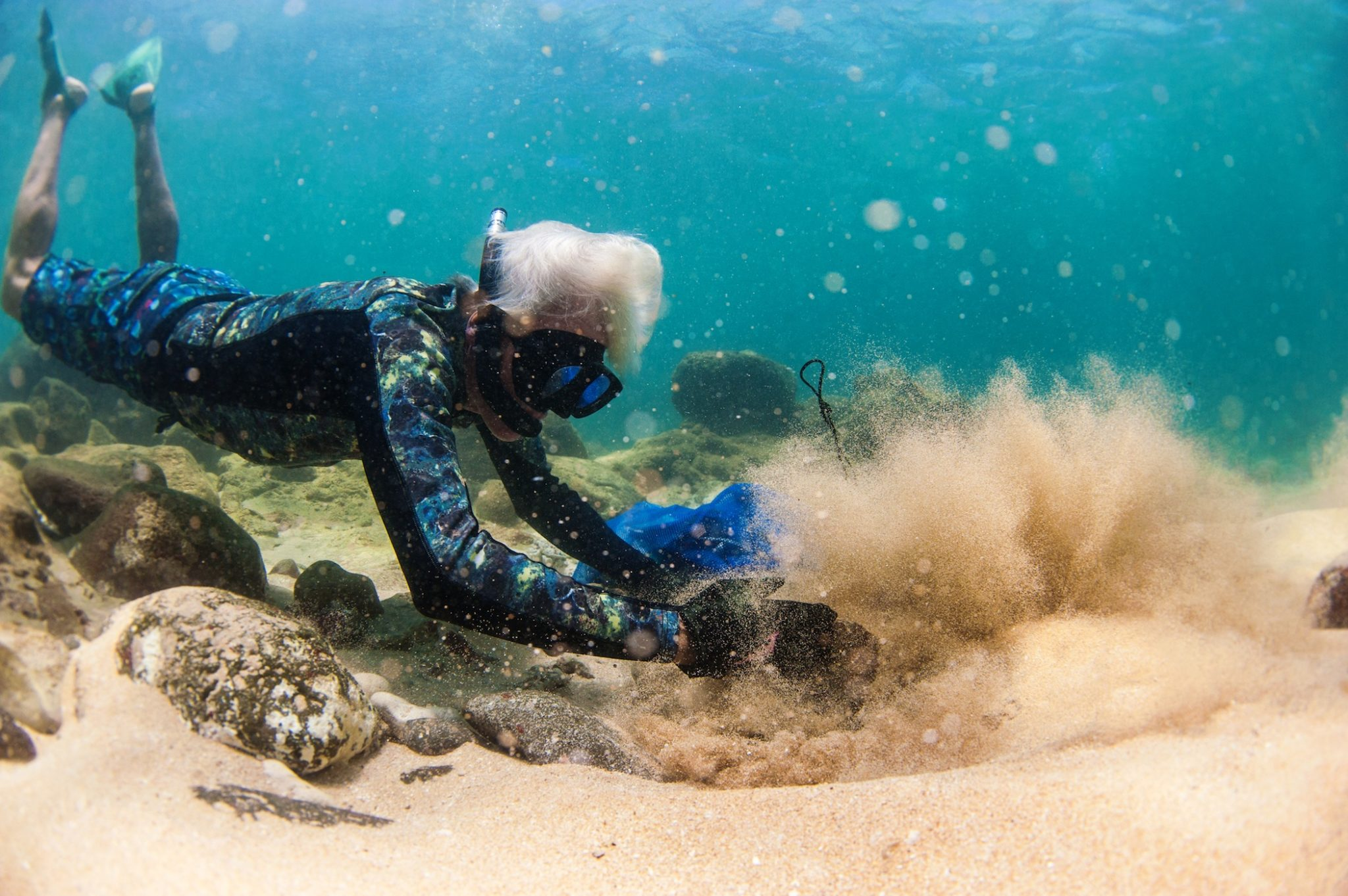 Mark Cunningham Diving Hawaii