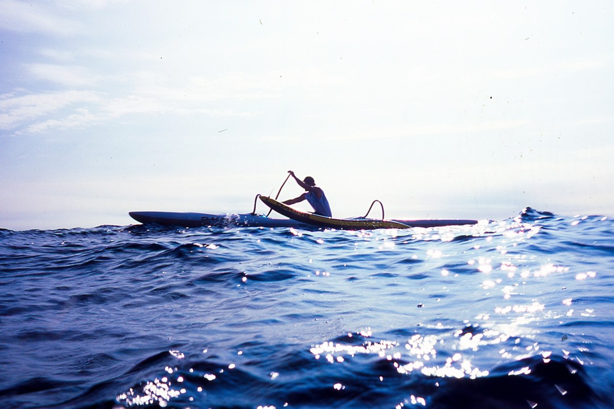 Na Koa O Kona outrigger fLUX Hawaii The sea