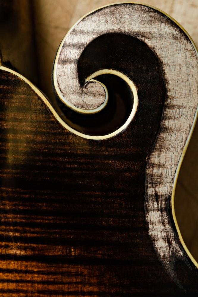 detail on string instrument