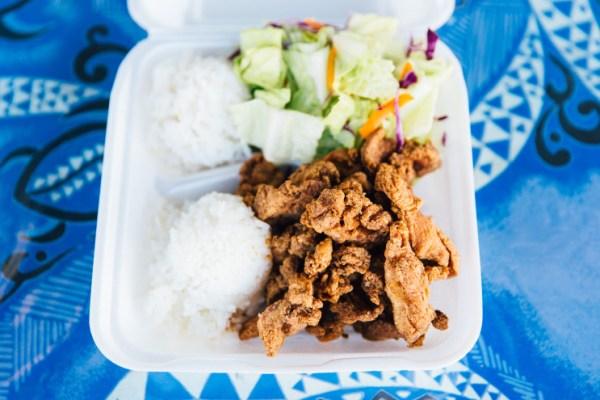 Bobbie's chicken, FLUX Hawaii