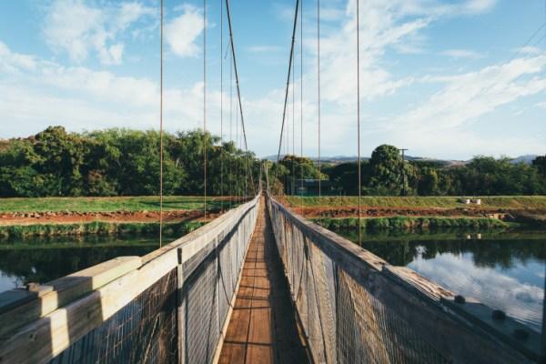 Hanapepe Swinging Bridge, FLUX Hawaii