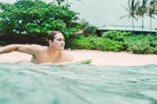 Makua Rothman surfing, FLUX Hawaii