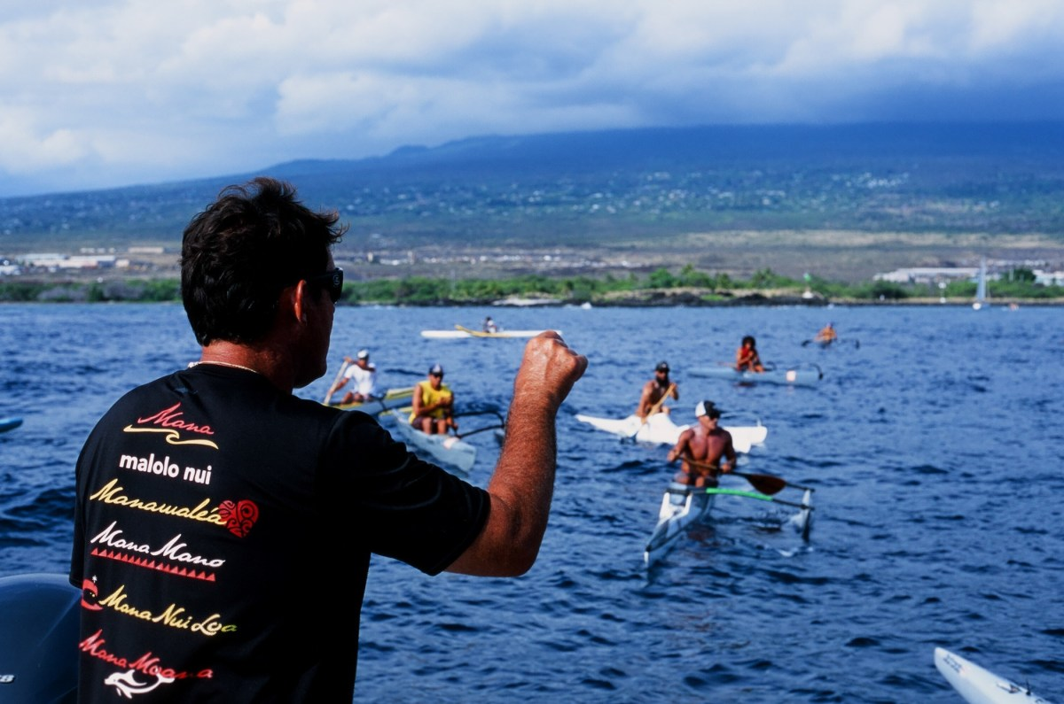 Mike Nakachi FLUX hawaii outrigger