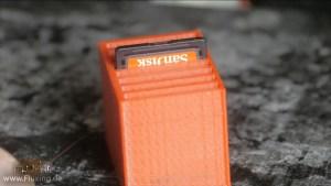 3d-gedruckte SD-Karten-Box