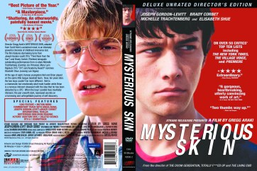 """Mysterious Skin"", 2004, DVD Amaray, with KustomCreative.com"