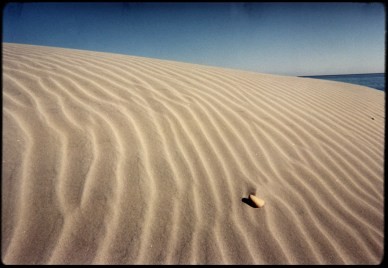 """Sand and Stone"", 1999, Santa Rosa Island, Ca, Landscape/Light studies series, C–print"