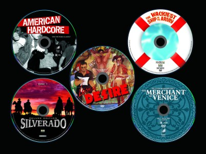 Selected DVD label designs, Sony Pictures Home Entertainment, 2004-2006, with KustomCreative.com