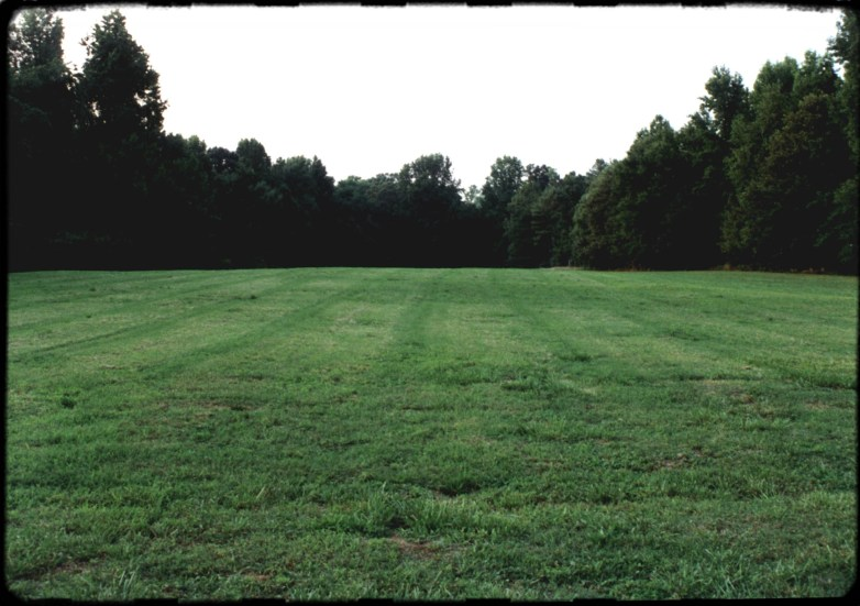 """Empty Lot"", 1995, Enon, Va, Landscape/Light studies series, C–print"