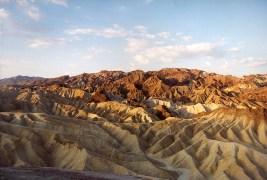 """Zabriske Point Dawn"", 2000, Death Valley California, Landscape/Light studies series, C–print"