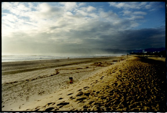 """Beach Berms"", 1997, Venice Beach, Ca, C–print"