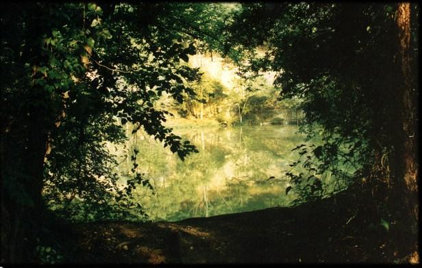 """Belle Island Quarry"", 1997, Richmond, Va, Landscape/Light studies series, C–print"