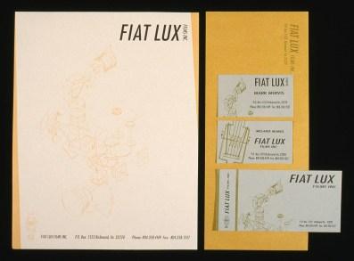 Fiat Lux, Letterhead, 1990