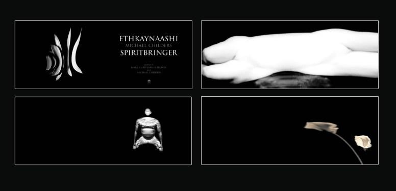 """Eythcaanashi/Spirit Bringer"", 2005, Michael Childers, rejected book concept exploration"