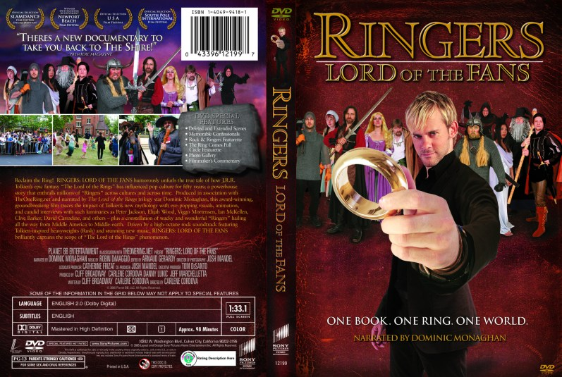 """Ringers"", 2006, DVD Amaray, original photography, with KustomCreative.com"