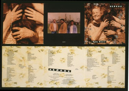 "Kepone, ""Ugly Dance"" CD/LP design, original photography, 1994, Touch and Go records"