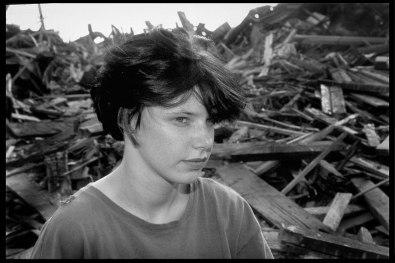 """""""Melanie"""" 1989, Untold Stories series, Richmond, Va, Gelatin Silver print"""
