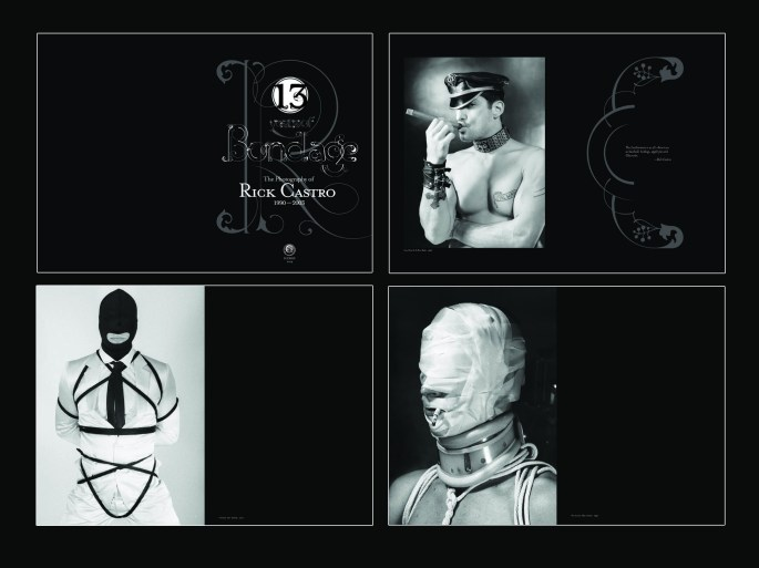 """13 Years of Bondage"", 2004, Rick Castro, selected page spreads"