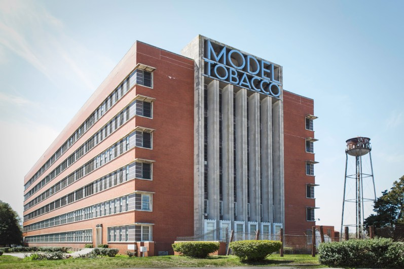 Model Tobacco Building, Jefferson Davis Highway, Virginia, 2011