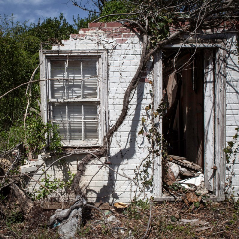 Home Ruins No. 2, Jefferson Davis Highway, Virginia, 2011