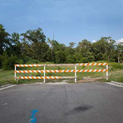Dead End, Jefferson Davis Highway, Virginia, 2011