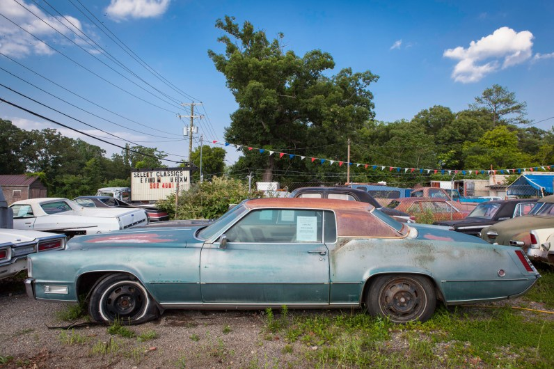 Select Cars, Jefferson Davis Highway, Virginia, 2011