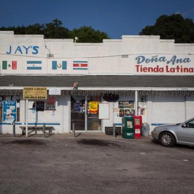 Latin Market, Jefferson Davis Highway, Virginia, 2011