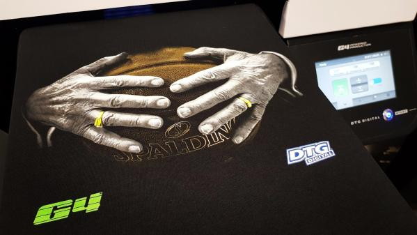 Closeup - DTG G4 Direct To Garment Printer
